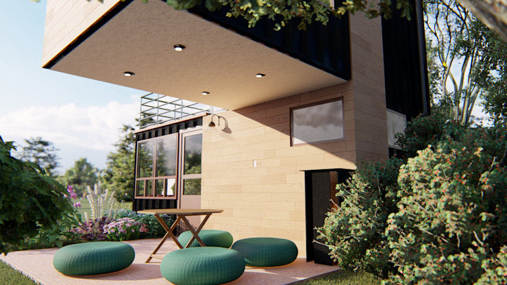 Programa arquitectónico IMZA Arquitectura Casas pequeñas