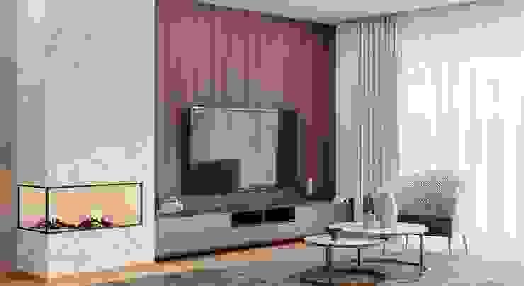 sala estar Alpha Details Salas de estar modernas