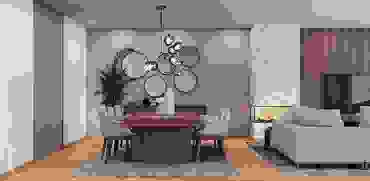 sala Alpha Details Salas de jantar modernas