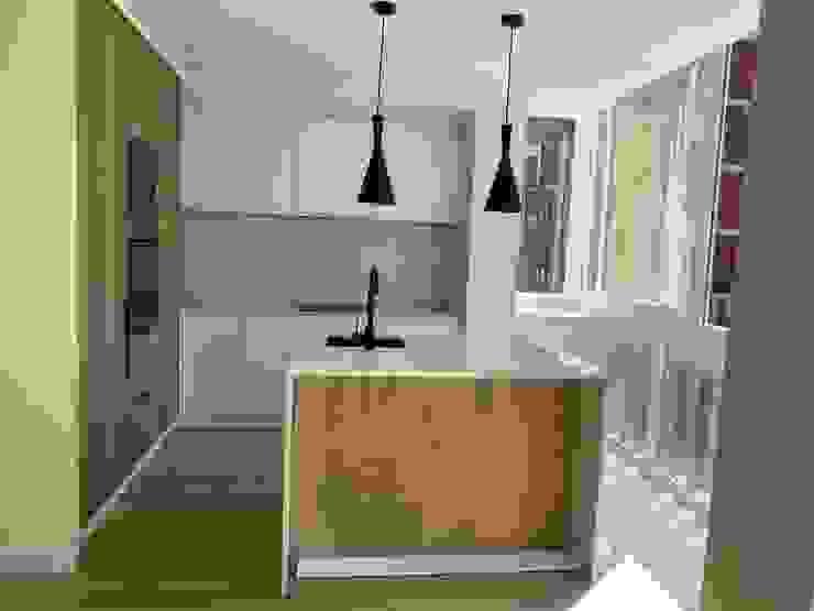 Cozinha moderna Home 'N Joy Remodelações Cozinhas pequenas