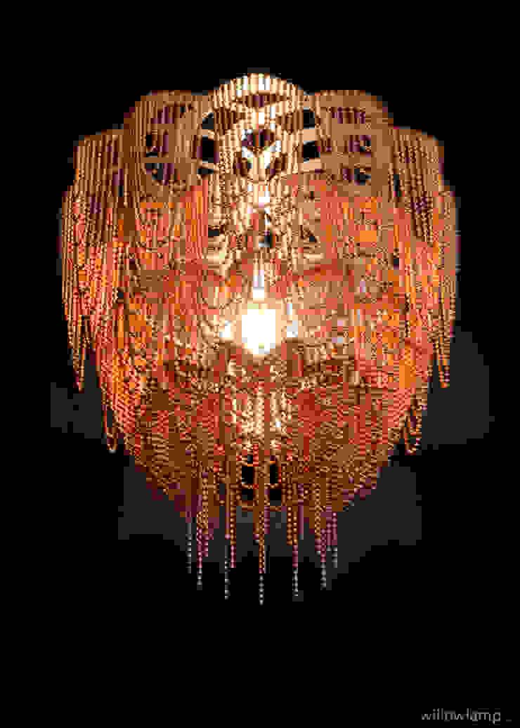 willowlamp WoonkamerVerlichting Metaal