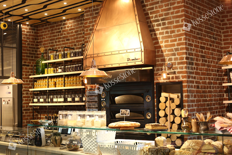 Restaurant @Izmir KOSSE STONE İç Dekorasyon