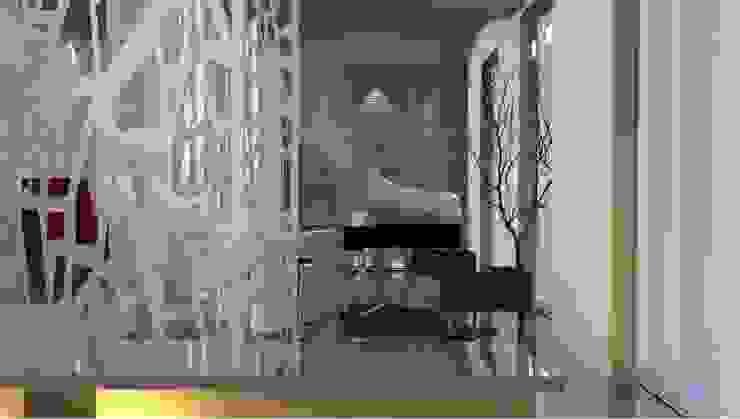 Hotel Albula/Entrance Hall Mirojoi Ingresso, Corridoio & Scale in stile minimalista