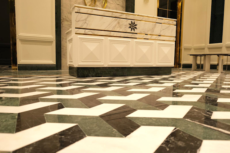 Doha Qatar Project Marble Vloeren