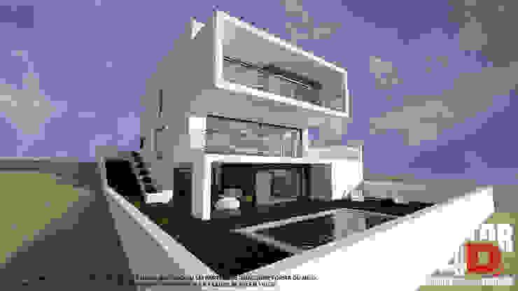 Exterior#002 Factor4D - Arquitetura, Consultadoria & Gestão Casas modernas
