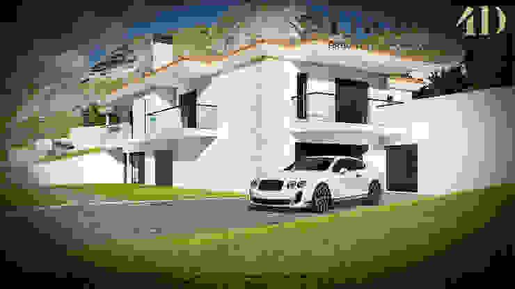 Exterior#002 Factor4D - Arquitetura, Consultadoria & Gestão Casas clássicas