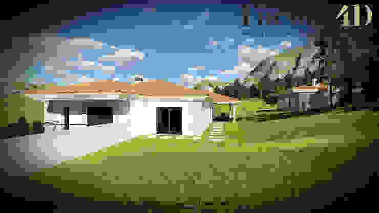 Exterior#003 Factor4D - Arquitetura, Consultadoria & Gestão Casas clássicas
