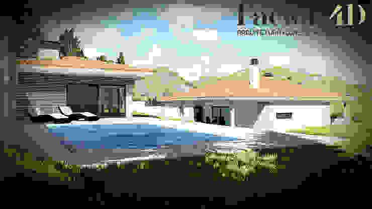 Exterior#004 Factor4D - Arquitetura, Consultadoria & Gestão Casas clássicas