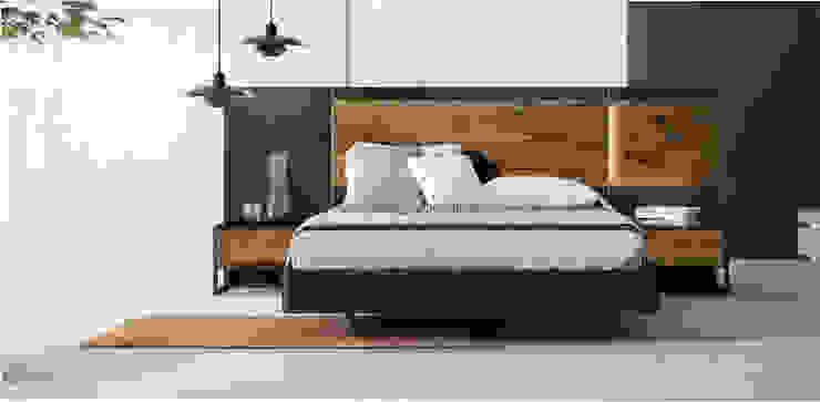 DORMITORIO 109 MINO BORONIA HOME Dormitorios de estilo moderno Tablero DM Blanco