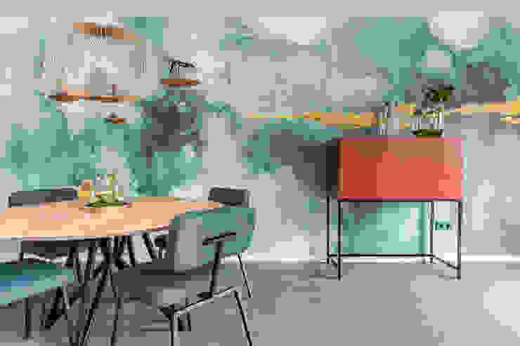 Interieurontwerp woonkamer THIES Design Moderne woonkamers