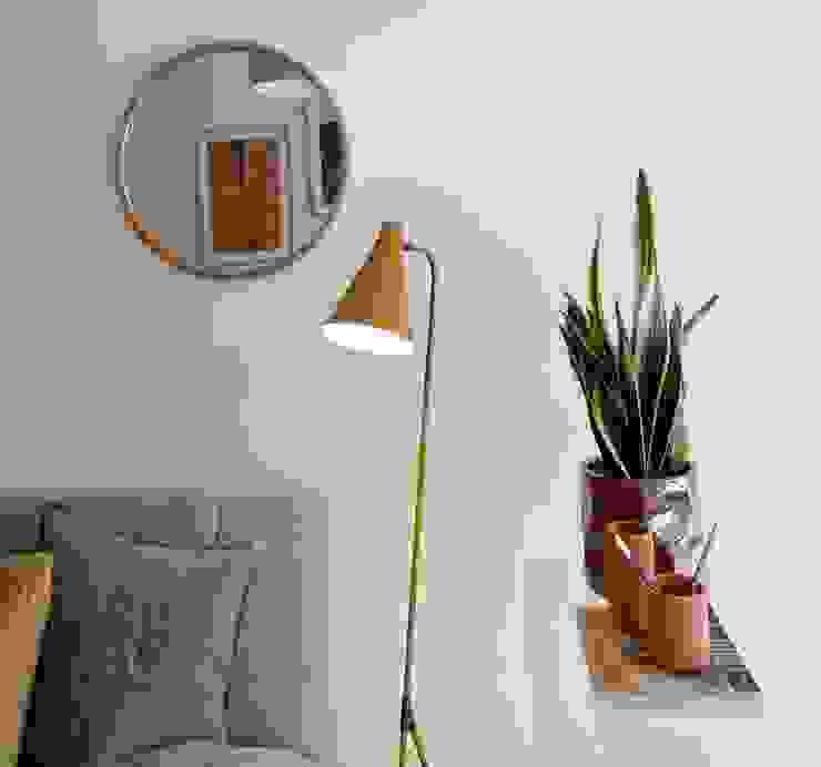 Apartamento Olivais Rafaela Fraga Brás Design de Interiores & Homestyling Espaços de trabalho minimalistas Vidro Cinzento