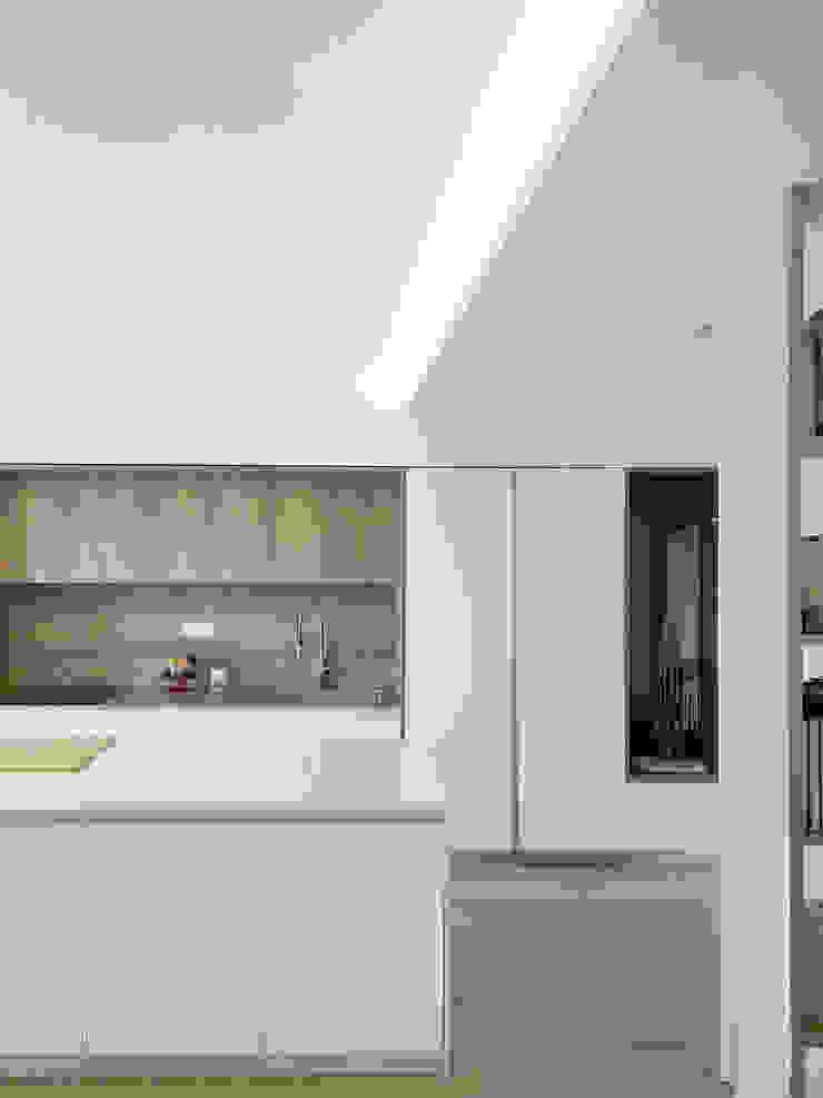 Illuminazione e controsoffitti Spazio 14 10 Cucina attrezzata Legno Bianco
