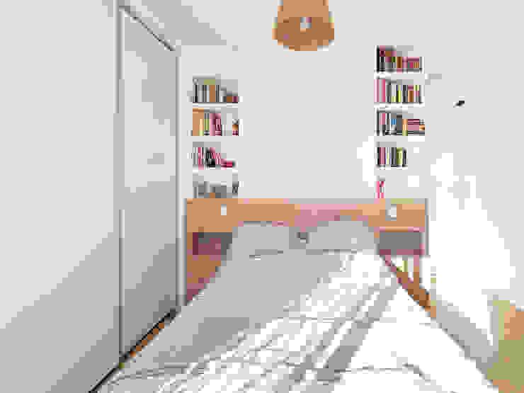 Testata letto su misura in legno e cartnogesso Spazio 14 10 Camera da letto moderna