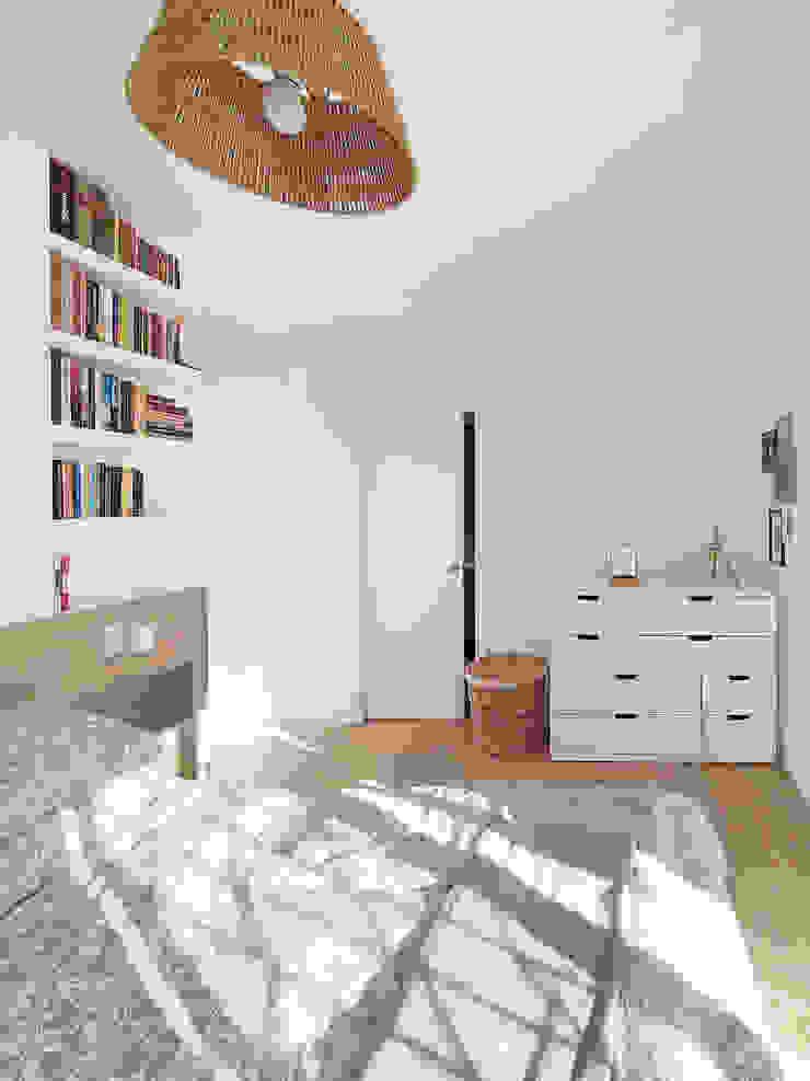 camera da letto con bagno Spazio 14 10 Camera da letto moderna