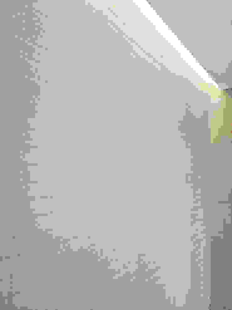 Veletta con luce dall'alto nella parete doccia Spazio 14 10 Bagno moderno