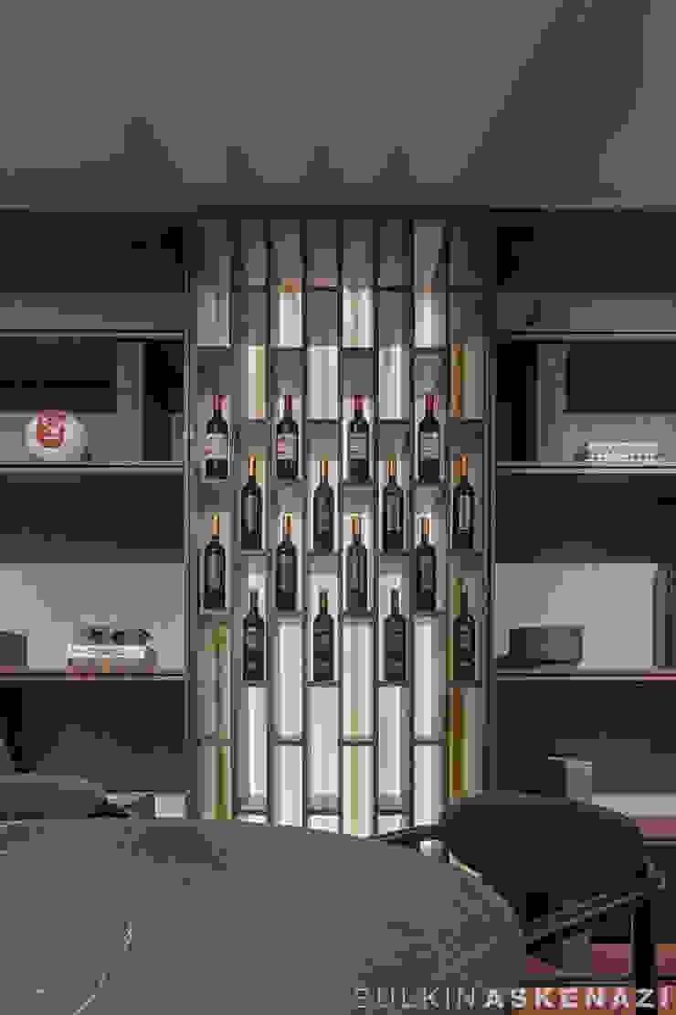 Sulkin Askenazi Modern Home Wine Cellar