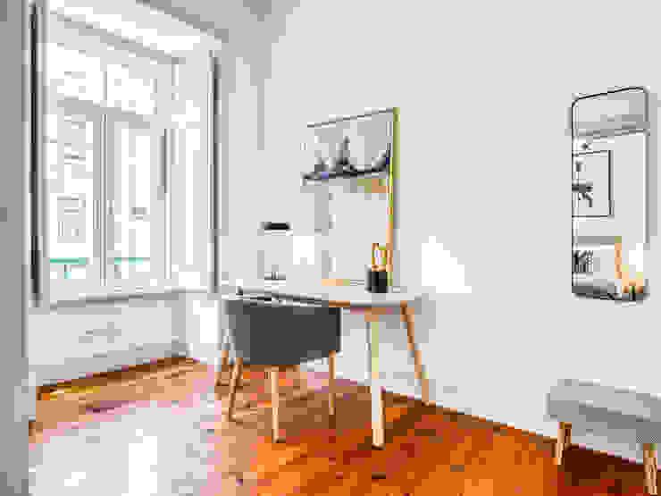 Espaço trabalho - Home office LOFT . DESIGN HOME STAGING EscritórioAcessórios e decoração
