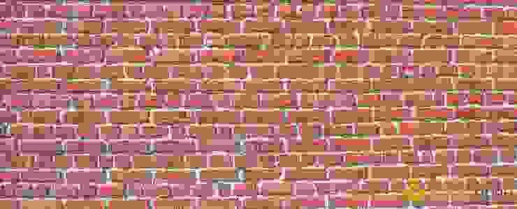 Dekoratif Duvar Paneli - Ran Brick KOSSE STONE MutfakAksesuarlar & Tekstil Ürünleri Kırmızı