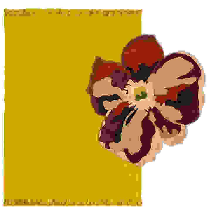 Flora Bloom www.tappeti.it Pareti & PavimentiTappeti e moquette Lana Giallo