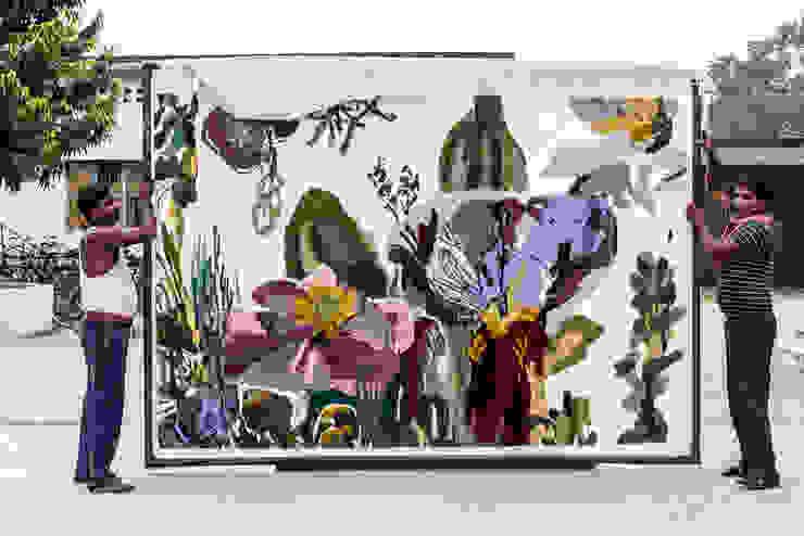 Flora Backyard www.tappeti.it Pareti & PavimentiTappeti e moquette Lana