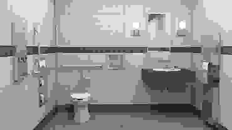 Baño institucional para la comodidad del usuario Hygolet de Mexico BañosGrifería Metal Metálico/Plateado