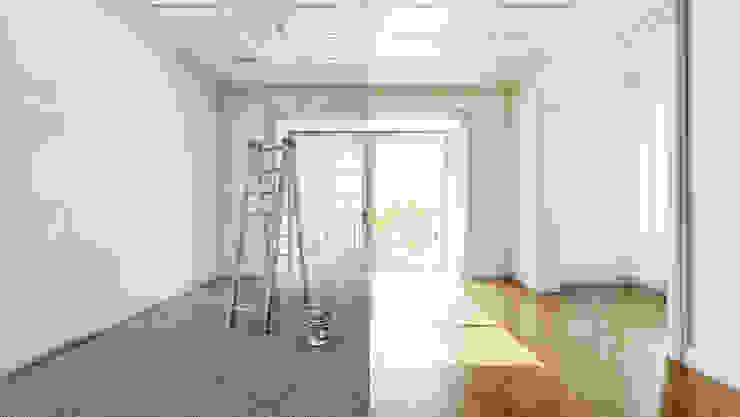 Consulenza Online - Interior Design Rome ARTE DELL'ABITARE SoggiornoContenitori Legno Variopinto