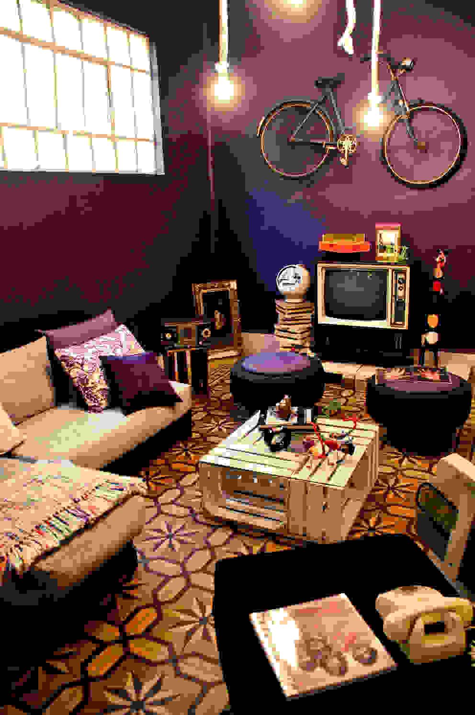 Sala de amiko espacios Ecléctico