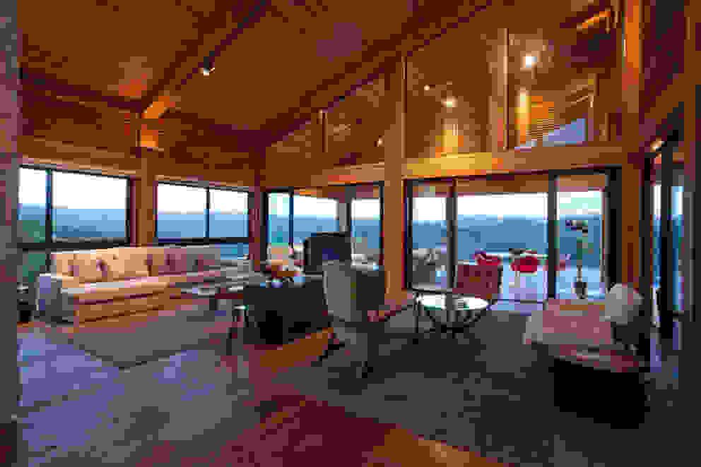 Mountain House 3 Case in stile rustico di David Guerra Arquitetura e Interiores Rustico