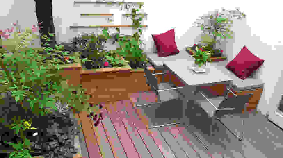 Marylebone Courtyard Jardins modernos por Fenton Roberts Garden Design Moderno