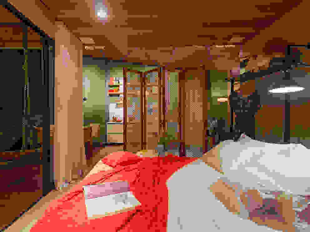 CASA COR - LOFT MULHER MODERNA Quartos modernos por Isabela Bethônico Arquitetura Moderno