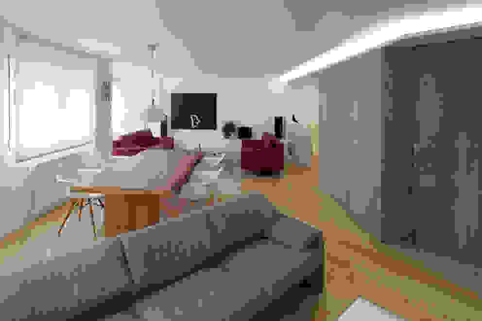 Soggiorno moderno di Castroferro Arquitectos Moderno