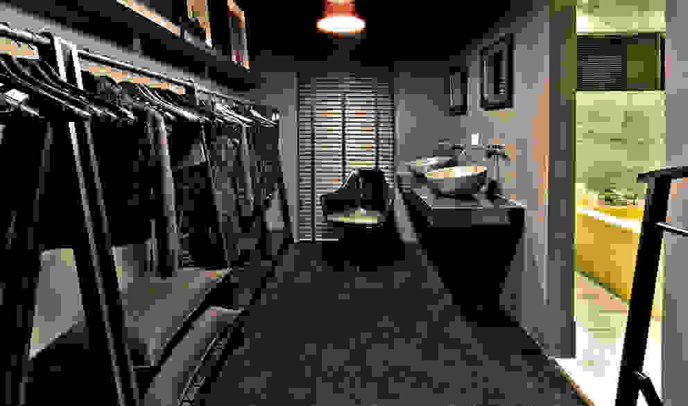 Loft do Mirante: Closets  por Neoarch,Moderno