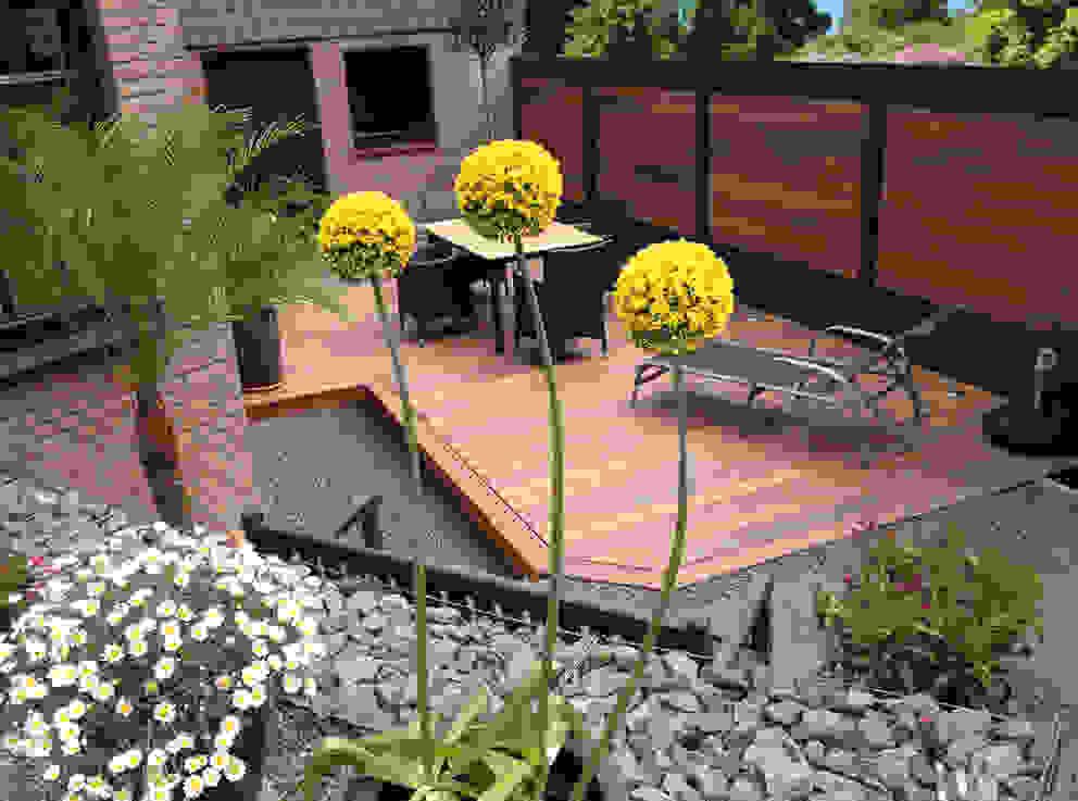 Deck-linéa Modern garden