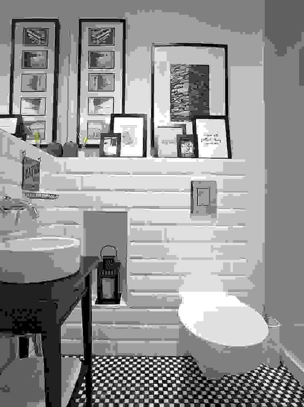 Baños modernos de Deeco Moderno