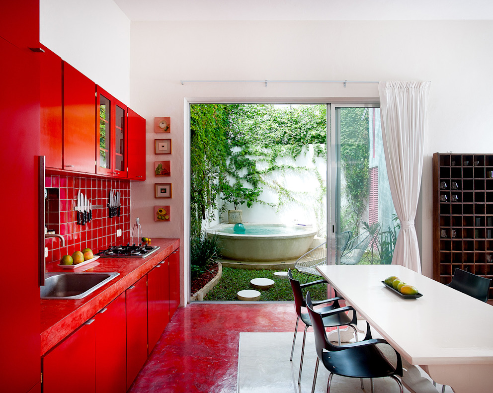 Cocinas de estilo  por Taller Estilo Arquitectura