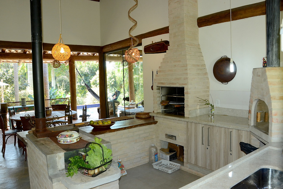 Casa do Bosque Casas rústicas por Arquitetamos Escritório Autônomo Rústico