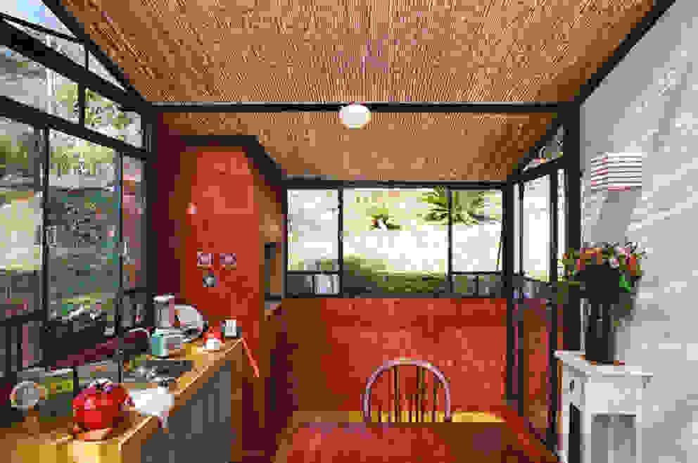 Espaço Gourmet Cozinhas campestres por Célia Orlandi por Ato em Arte Campestre Tijolo