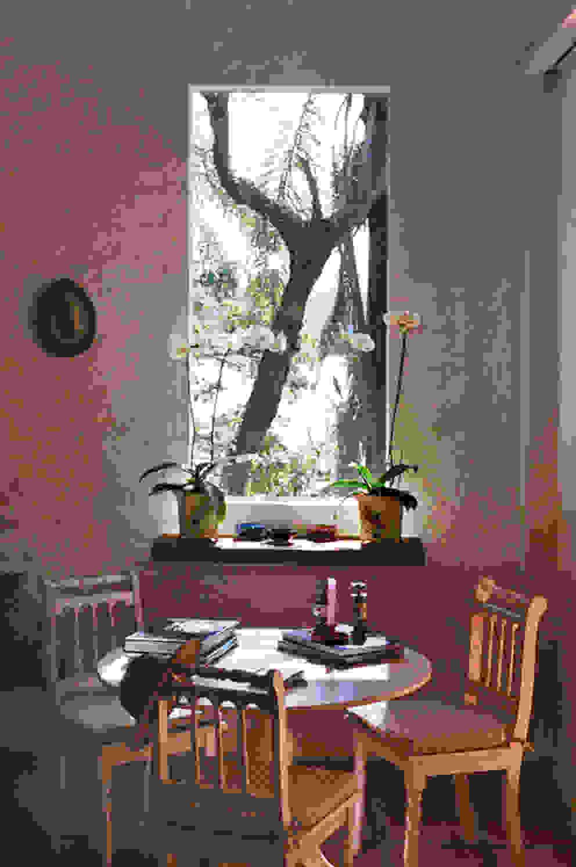 Salinha Salas de estar campestres por Célia Orlandi por Ato em Arte Campestre Derivados de madeira Transparente