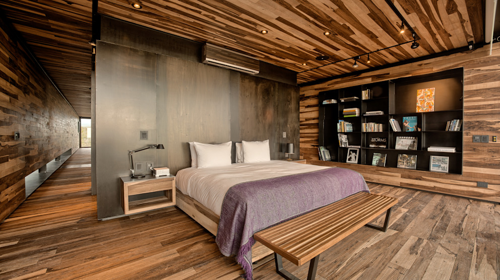 Dormitorios de estilo moderno de A4estudio Moderno