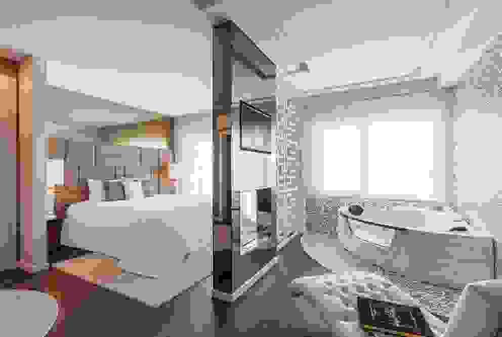 Suite Master Dormitorios de estilo moderno de Movelvivo Interiores Moderno