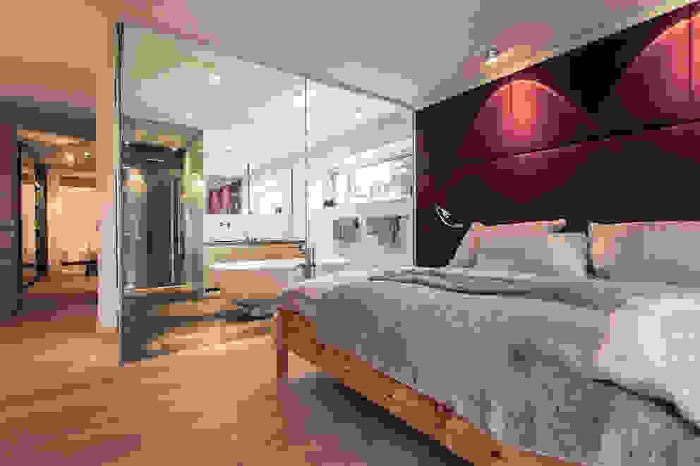 Dormitorios de estilo moderno de Meissl Architects ZT GmbH Moderno