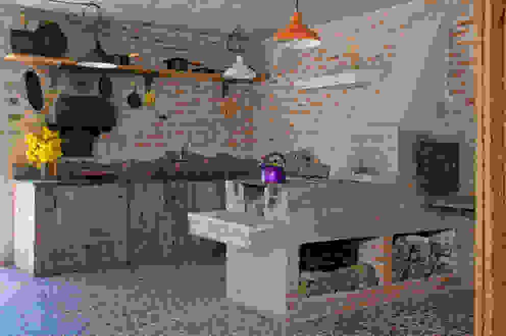 Cozinha Cozinhas rústicas por Carlos Bratke Arquiteto Rústico