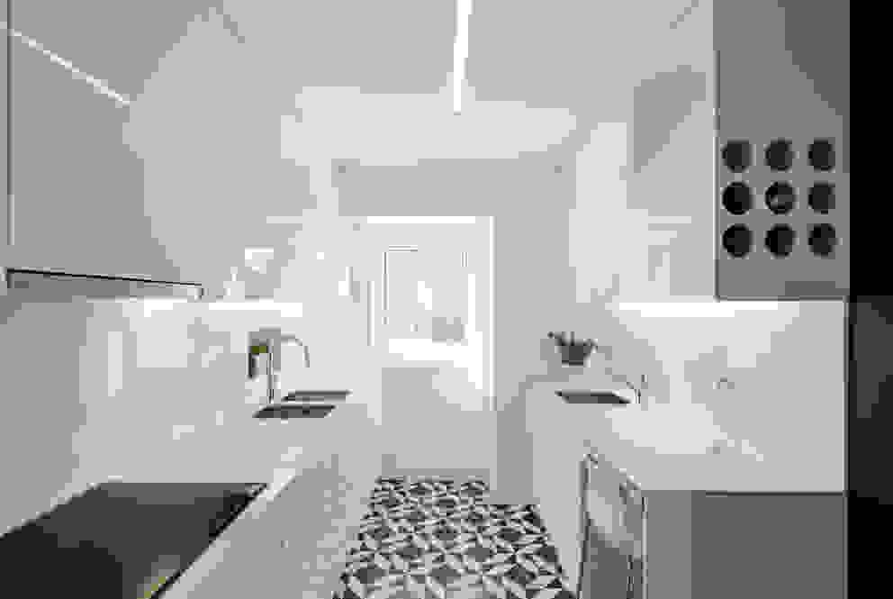 Cocinas de estilo  de Vanessa Santos Silva | Arquiteta