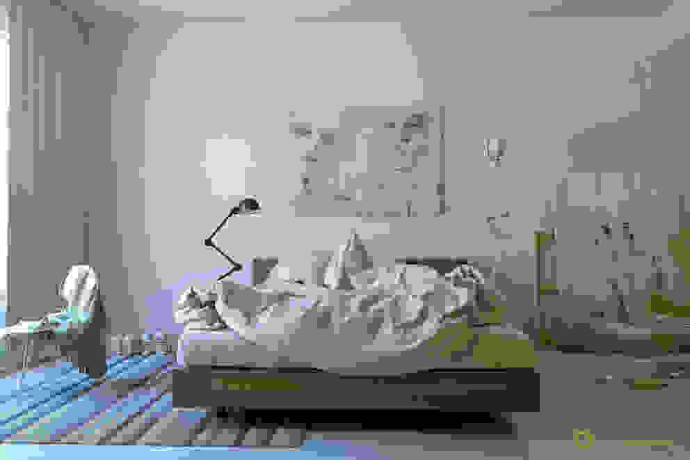 The Bed Dormitorios de estilo moderno de ArqRender Moderno
