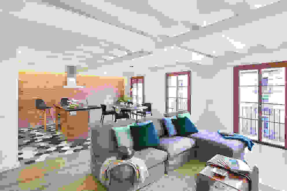 Salon moderne par Egue y Seta Moderne