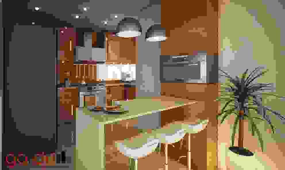 Cozinhas modernas por GarDu Arquitectos Moderno