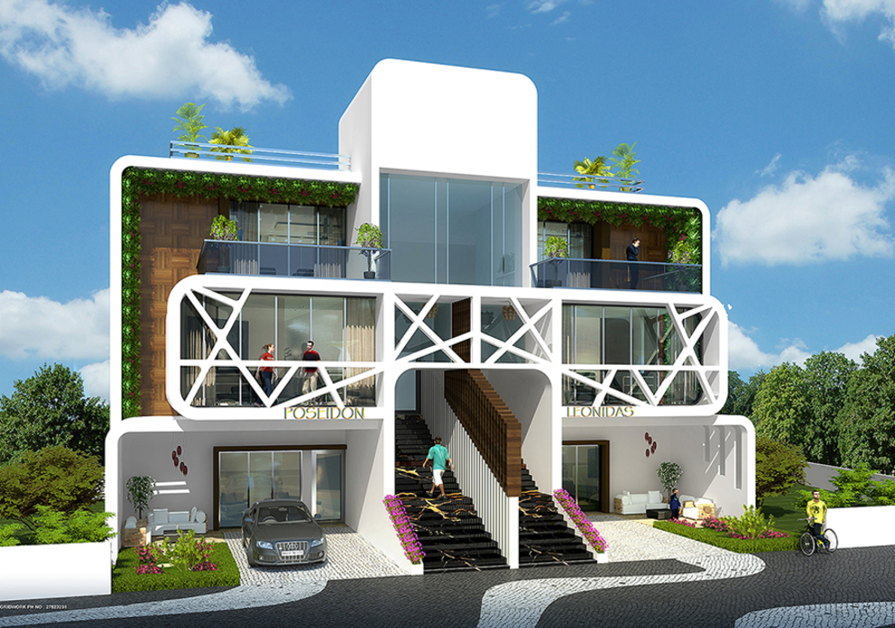 Mediterrane Häuser von AIS Designs Mediterran