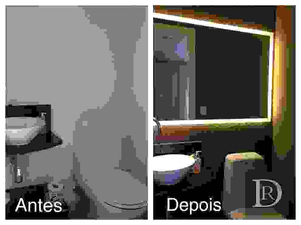 Antes e Depois | Lavabo por Debora de Rezende | arquitetura e interiores
