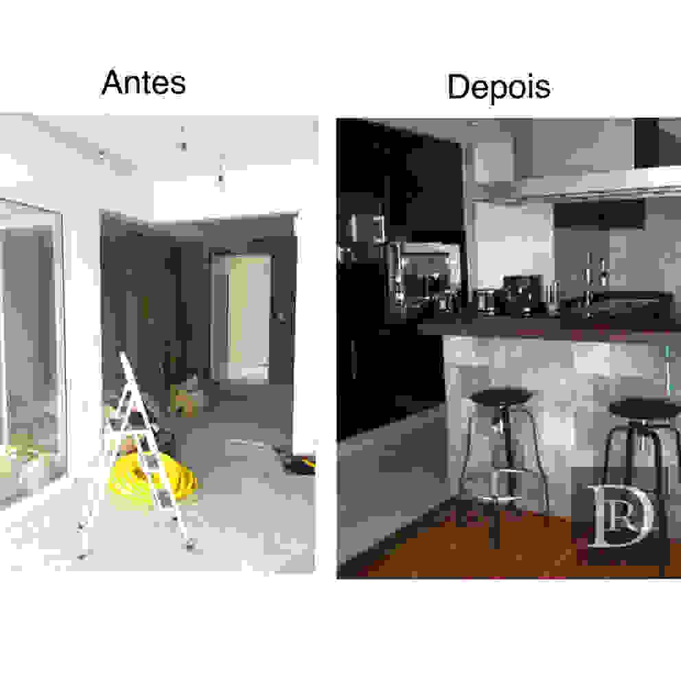 Cozinha integrada por Debora de Rezende | arquitetura e interiores