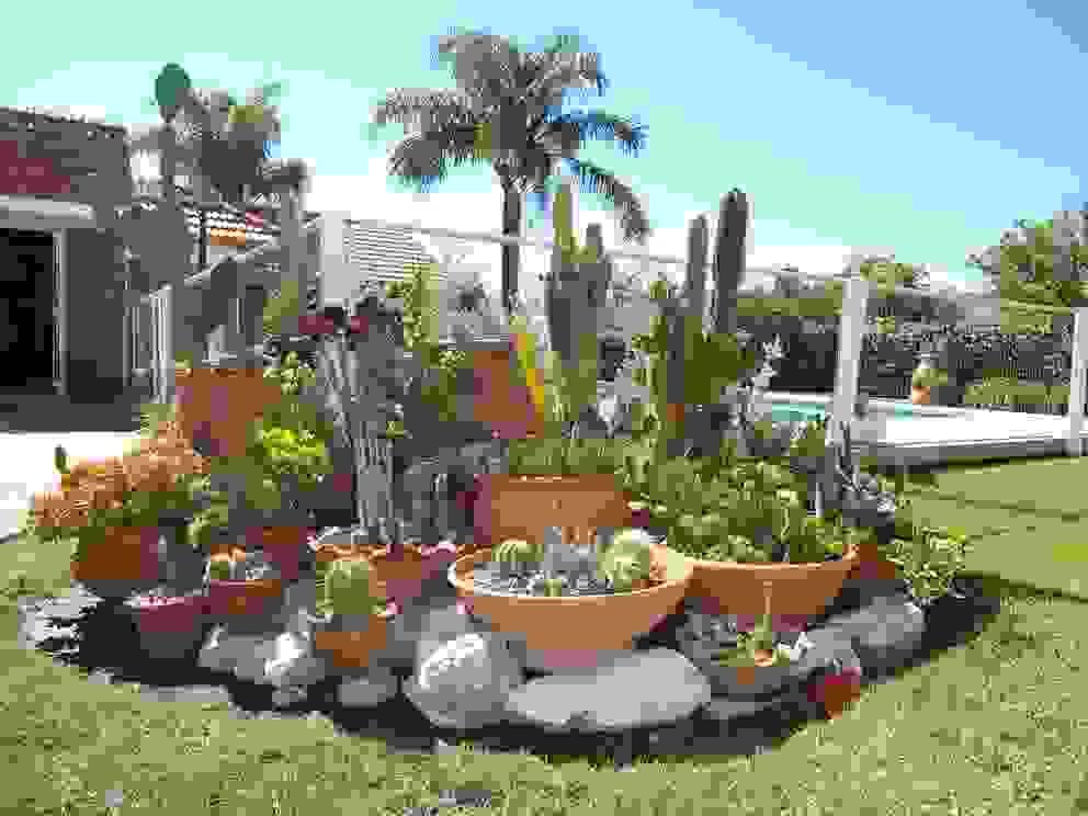 milena oitana Eclectic style garden